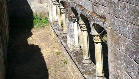 Mosteiro Bon Xesús. Claustro desde celdas