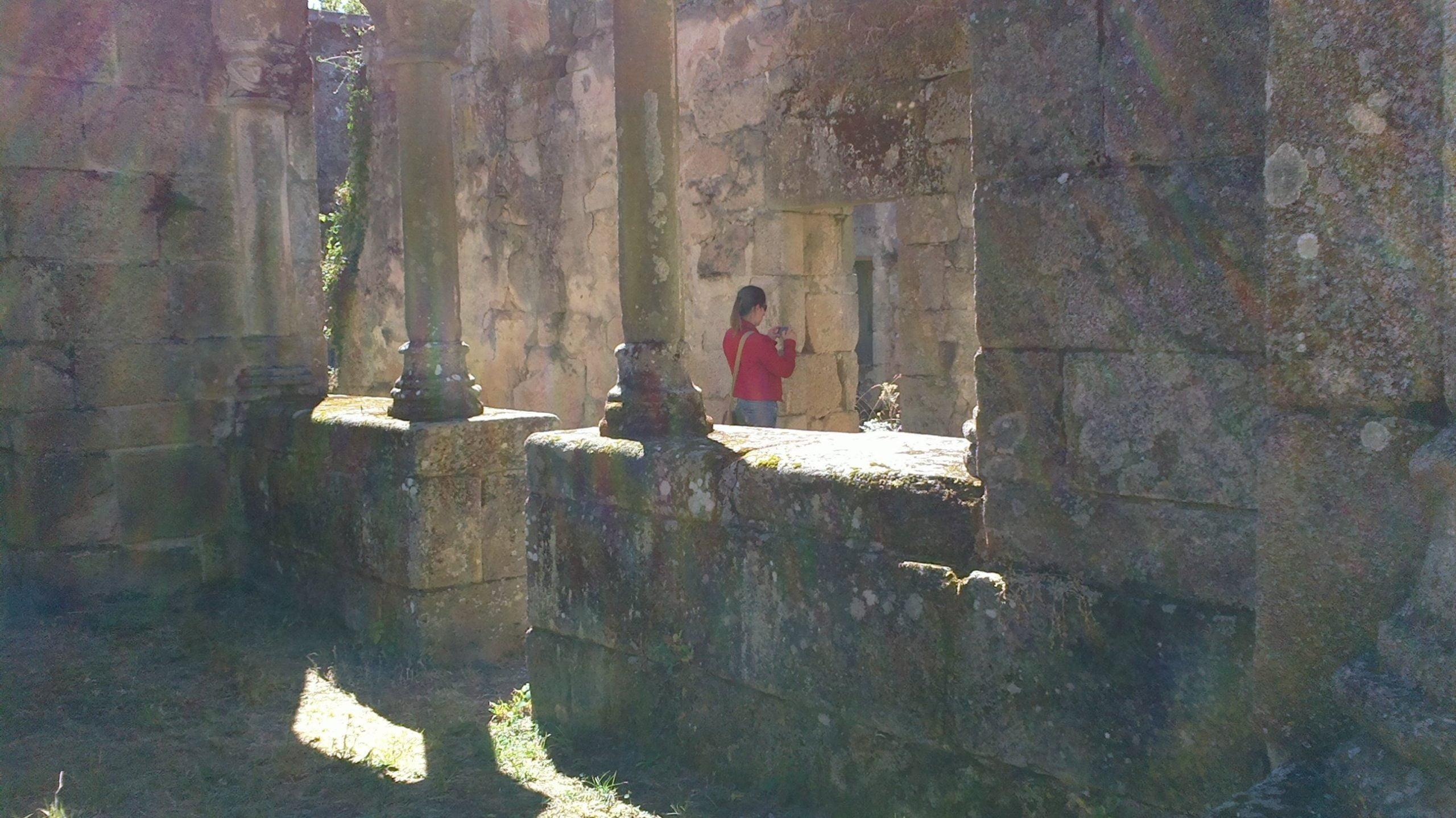 Mosteiro Bon Xesús Claustro