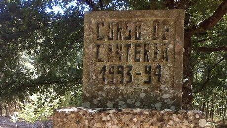 Mosteiro Bon Xesús. Curso cantería 93-94