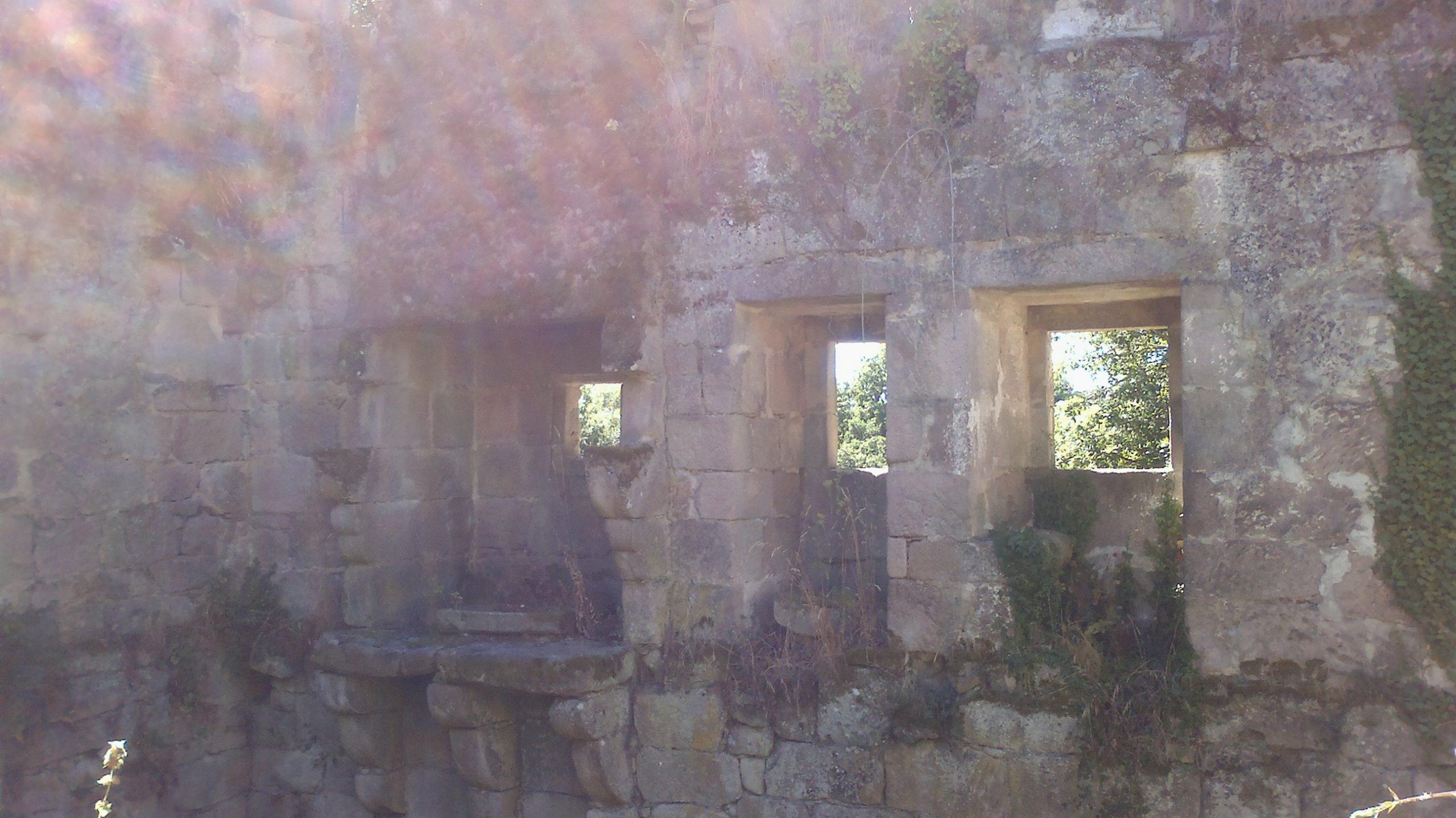 Mosteiro Bon Xesús Restos cocina